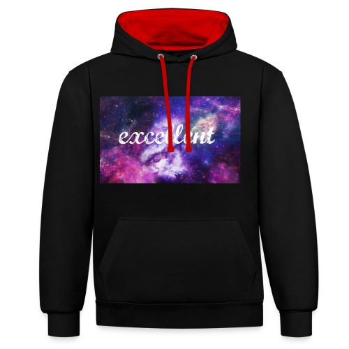 Excellent Clothing Brand - Contrast Colour Hoodie