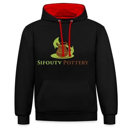 Sifoutv Pottery - Contrast Colour Hoodie