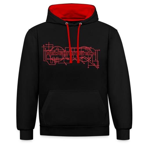 RedGamingTech Logo Shirt - Contrast Colour Hoodie