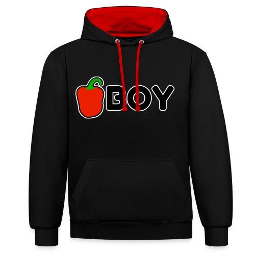PaprikaBoy - Contrast hoodie