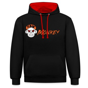 Raw Monkey Logo - Sweat-shirt contraste