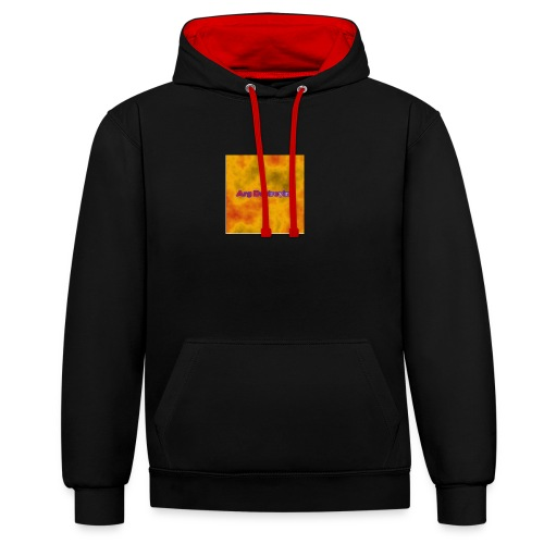 ArgDestroying Official Store! - Contrast Colour Hoodie