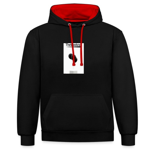 Balloons - Contrast Colour Hoodie