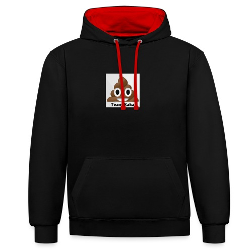 Team kaka logo - Contrast hoodie