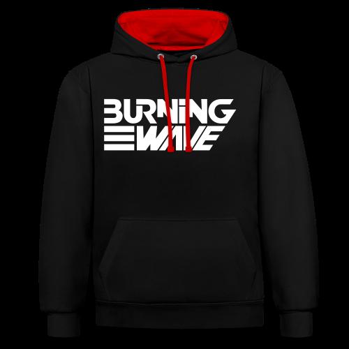 Burning Wave Block - Sweat-shirt contraste
