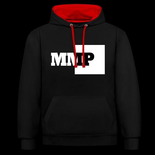 Monkey Music Production logo MMP - Kontrast-Hoodie