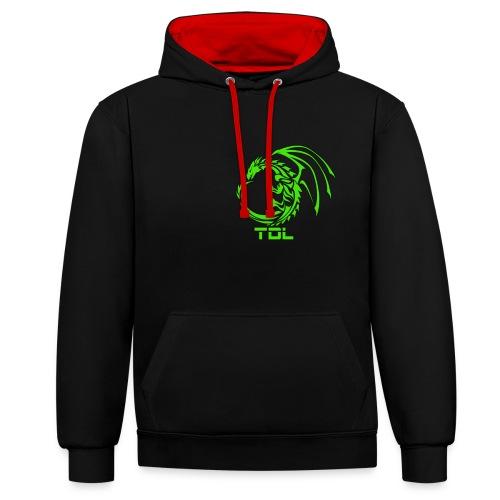 TDL shop - Kontrast-hættetrøje