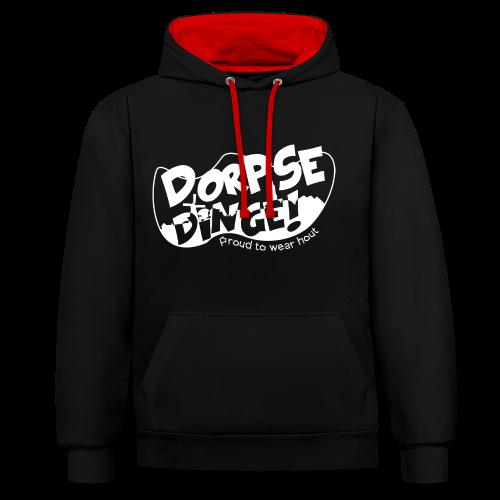 Dorpse dinge! Snapback - Contrast hoodie