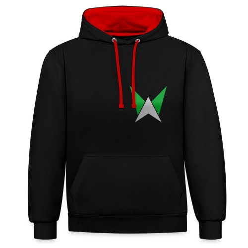 logo team - Sweat-shirt contraste