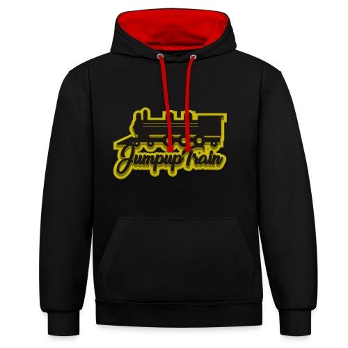 JUMPUPTRAIN - Contrast hoodie