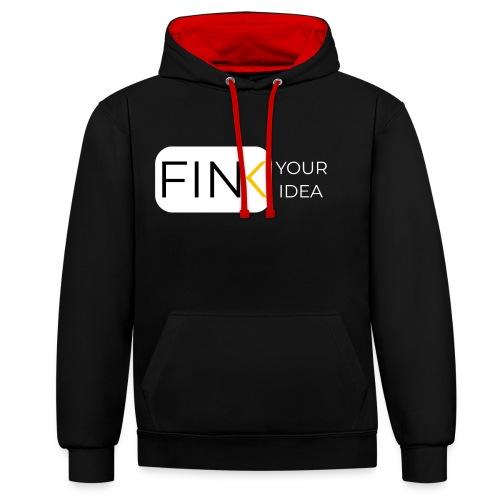 Fink. Your Idea - Kontrast-Hoodie
