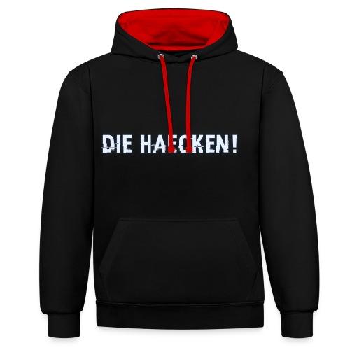 Lupo - DIE HÄCKEN! - Contrast Colour Hoodie