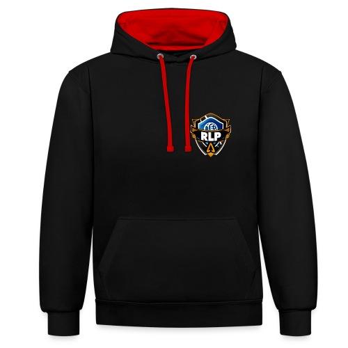 Rocket Liga Pro   Logo Style's - Sudadera con capucha en contraste