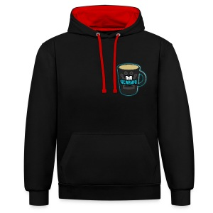 Channel Emote - Contrast Colour Hoodie