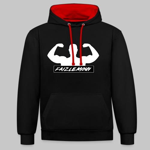 Faizlemouv - Contrast hoodie