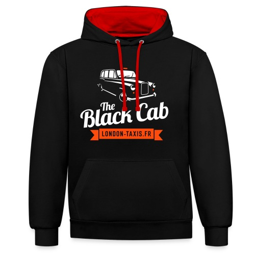 The Black Cab - Sweat-shirt contraste
