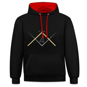4K. Jones Limited Editions - Contrast Colour Hoodie
