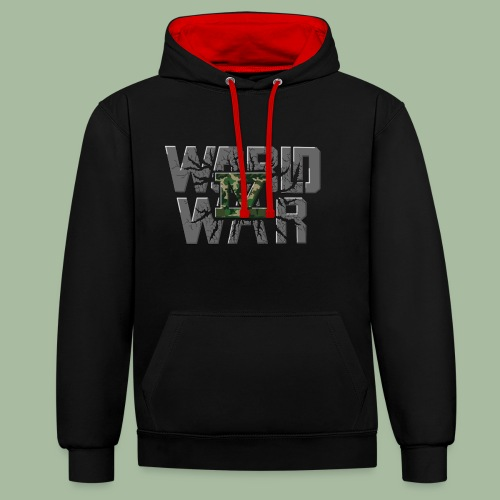 World War 4 - Sweat-shirt contraste