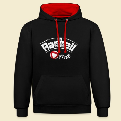 Radball | Oma - Kontrast-Hoodie