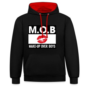 Make-up Over Boys - Contrast hoodie