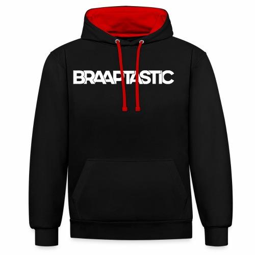 Braaptastic - Kontrast-Hoodie