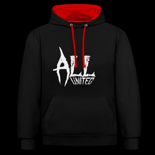 All United Asso - Sweat-shirt contraste