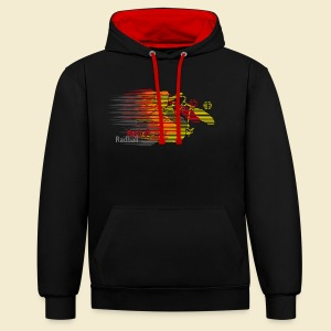Radball | Earthquake Germany - Kontrast-Hoodie