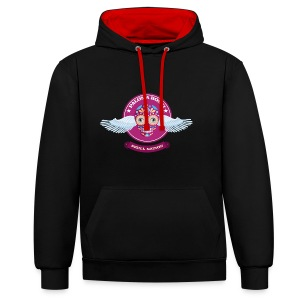 Paloma Rossi - Flying Skull Limited Edition - Kontrast-Hoodie