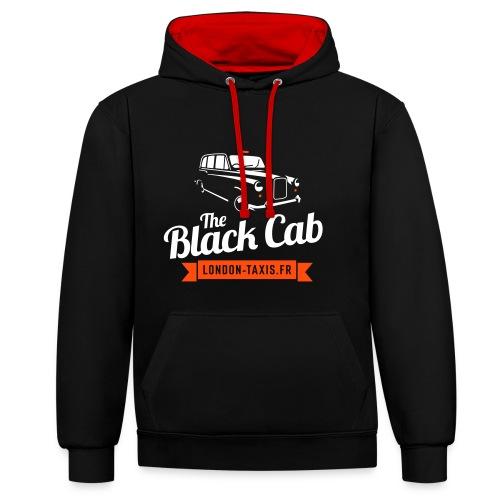 The Black Cab - Sweat-shirt contraste