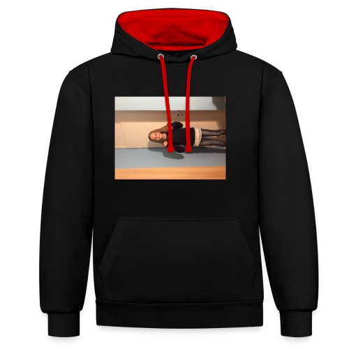 IMG_1686 - Contrast Colour Hoodie