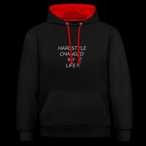 Hardstyle Changed my Life! - Kontrast-Hoodie
