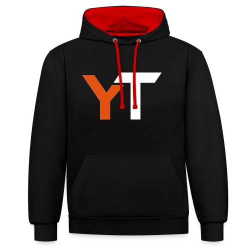 Yogii Tube - Contrast Colour Hoodie