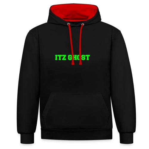 ITZ GHOST - Contrast Colour Hoodie
