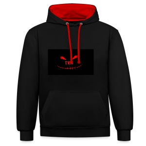 TherealMacey - Contrast Colour Hoodie