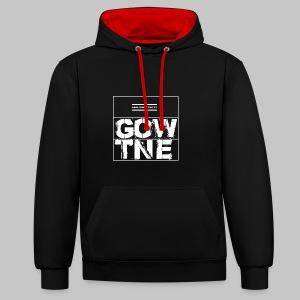 GOWENTGONE logo HP - Kontrast-Hoodie