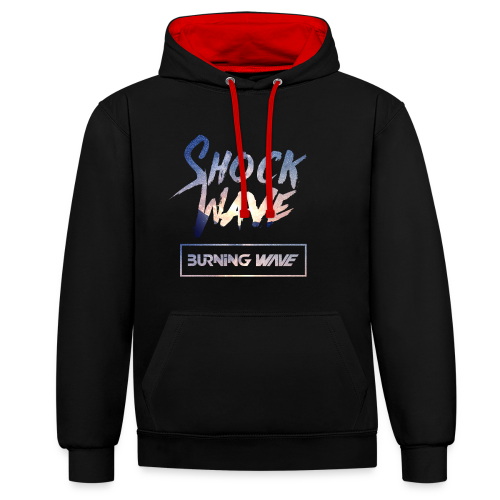 Burning Wave - Shock Wave - Sweat-shirt contraste