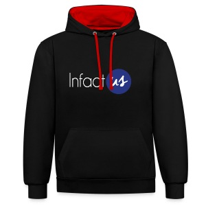 InfactUS Classic - Sweat-shirt contraste