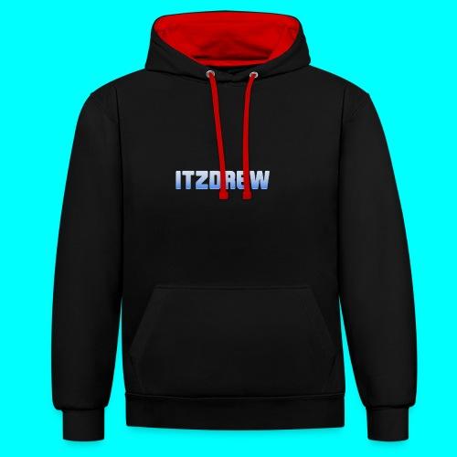 ITZDREW MERCH - Contrast Colour Hoodie