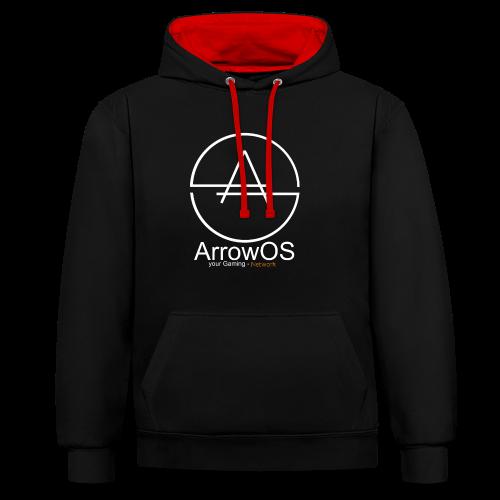 ArrowOS - Kontrast-Hoodie