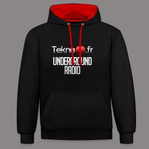 logo tekno1 2000x2000 - Sweat-shirt contraste