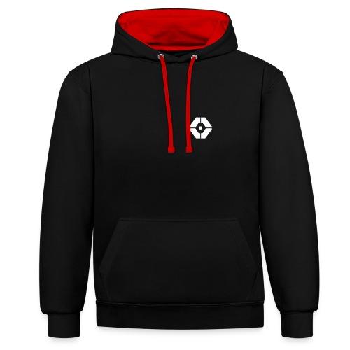 Ricover Micro logo - Contrast hoodie