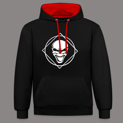 future kickz wit - Contrast hoodie