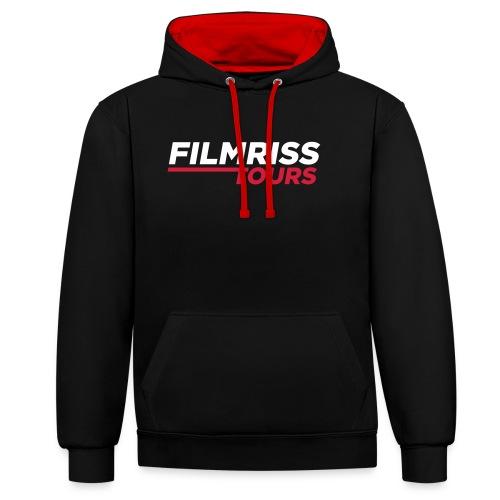 FILMRISS TOURS – lustiges Shirt für Partys, JGA - Kontrast-Hoodie