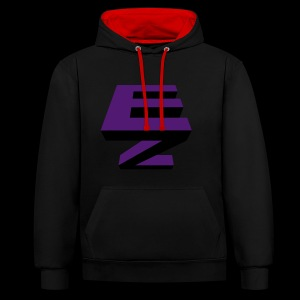 Electric Zoo logo - Contrast Colour Hoodie