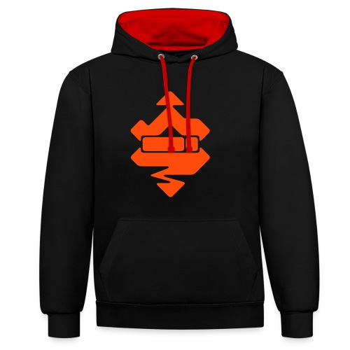 The Real Kim Shady Accessories - Contrast Colour Hoodie