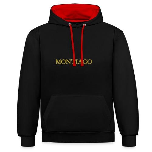 MONTIAGO LOGO - Contrast Colour Hoodie