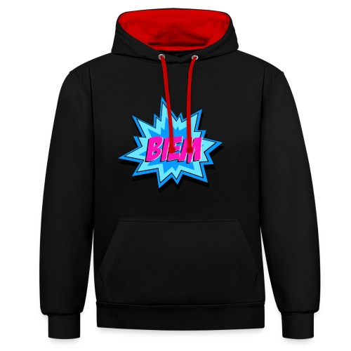 BIEM - Contrast hoodie