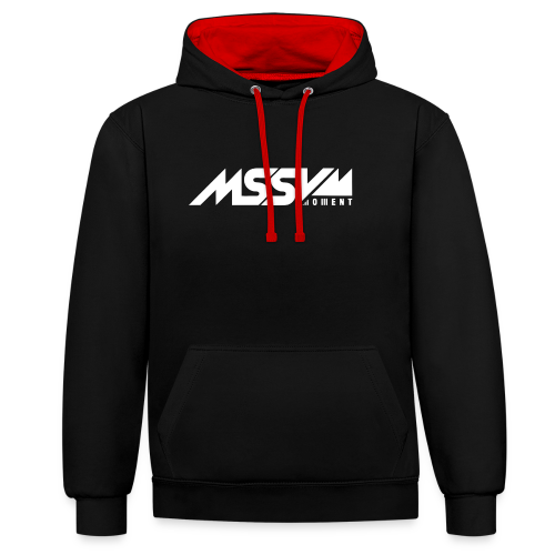 Massive Moment - Contrast Colour Hoodie