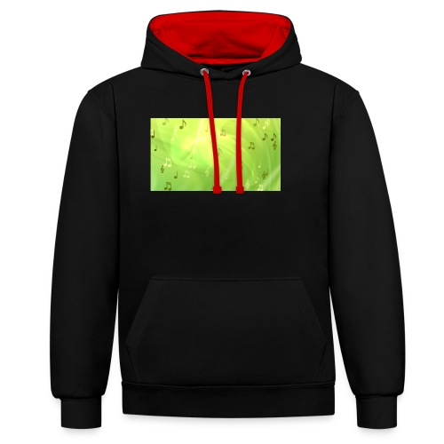 nihath vlogs merch now - Contrast Colour Hoodie