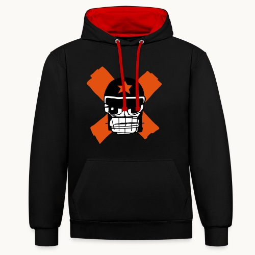 Motard Micky Biker - Sweat-shirt contraste